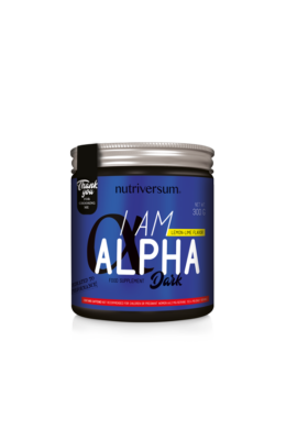 I am Alpha - 300 g - DARK - Nutriversum
