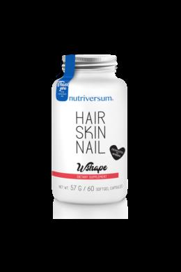 Hair Skin Nail - 60 kapszula - WSHAPE - Nutriversum