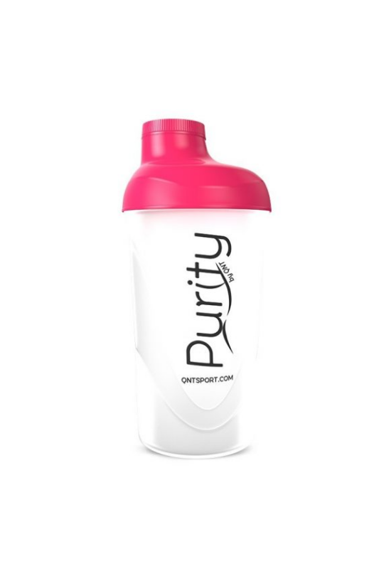QNT Shaker Purity 600ml - Magenta/Transparent