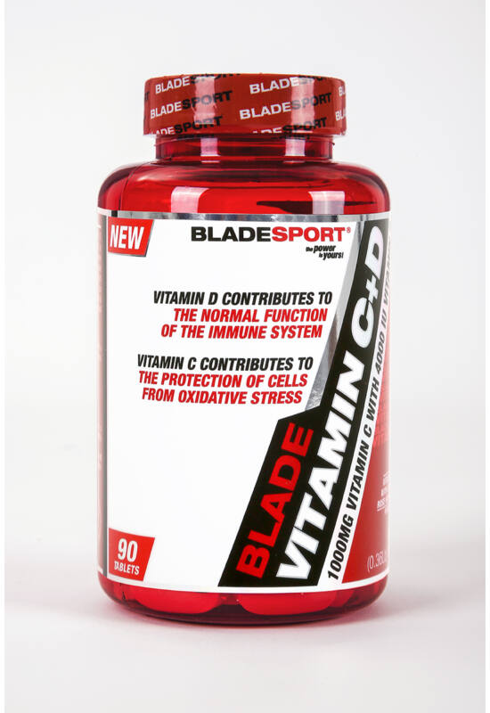 Blade Vitamin C1000 +D4000 (90 Tabs.)