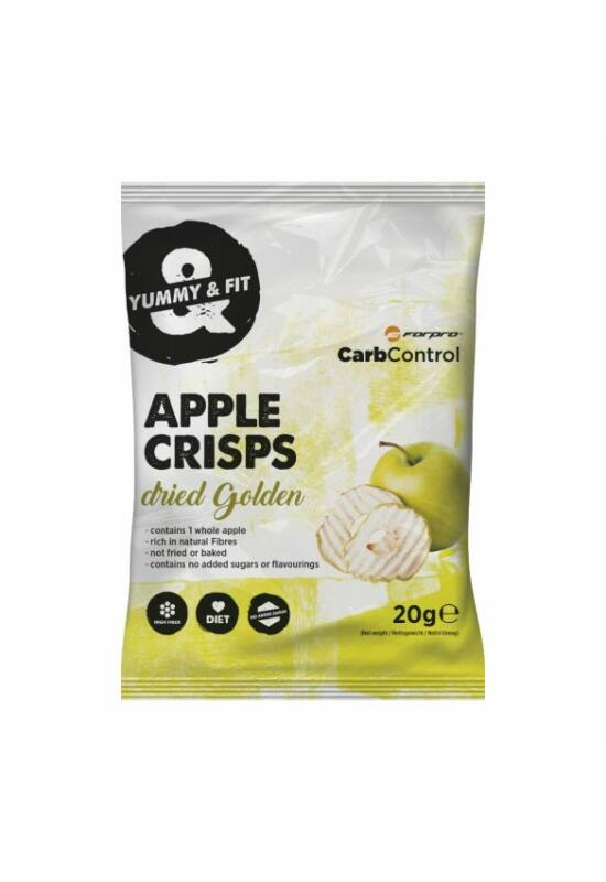Forpro Apple Crisps almaszirom 20g - Golden