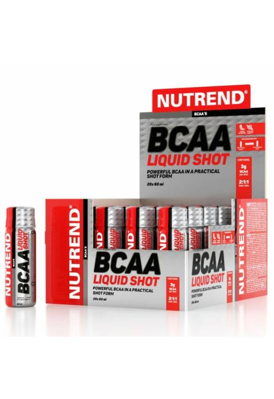 Nutrend BCAA Liquid Shot ampulla 60ml