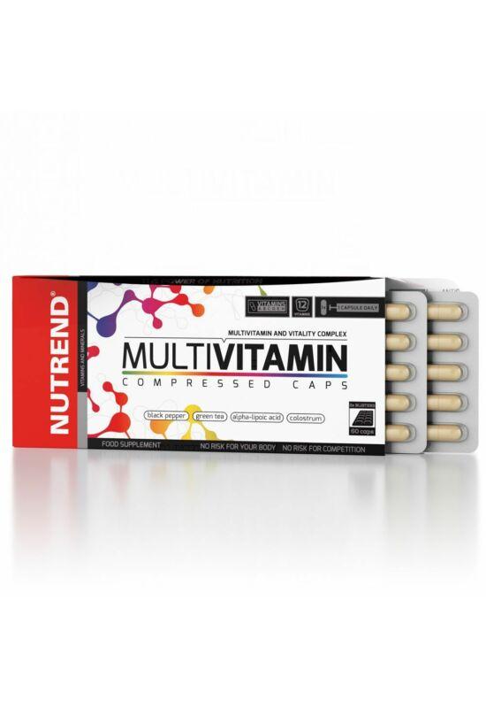 Nutrend Multivitamin Compressed Caps 60 kapszula
