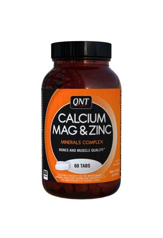 QNT Calcium Mag & Zinc tabs - 60 tabletta