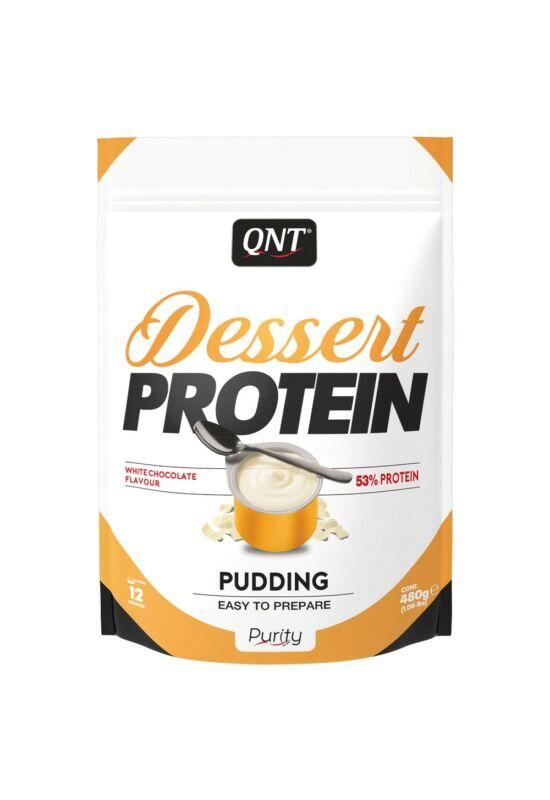 QNT Dessert Protein 480g - White Chocolate