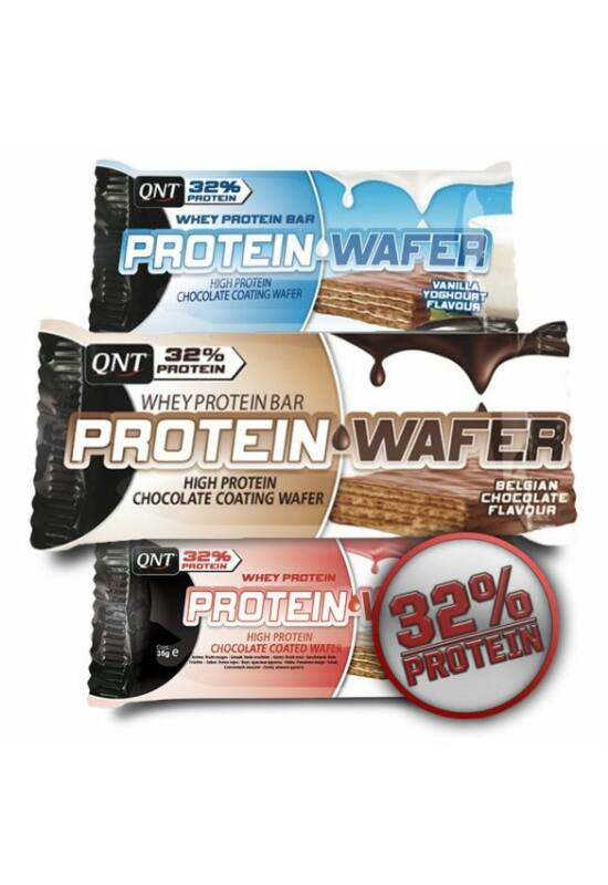 QNT Protein Wafer ostya (Protein Snack) 35g - Chocolate