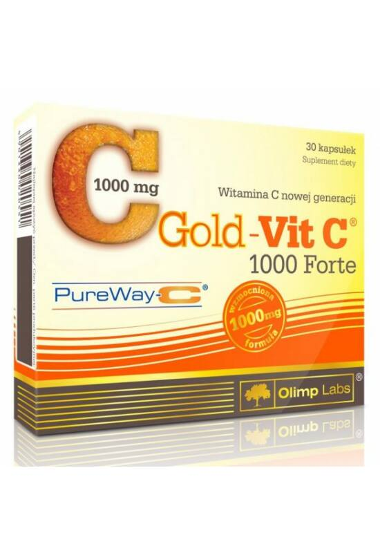 Olimp Labs GOLD-VIT C® 1000 FORTE - 30 kapszula