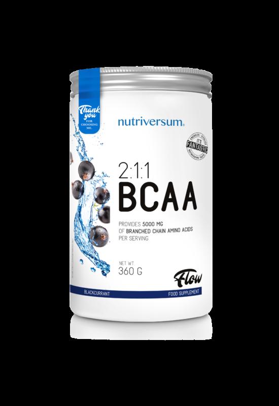 2:1:1 BCAA - 360 g - FLOW - Nutriversum
