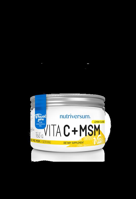 C+MSM - 150 g - VITA - Nutriversum
