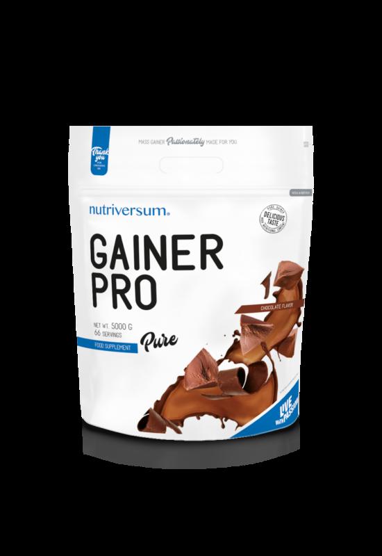 Gainer Pro - 5 000 g - PURE - Nutriversum