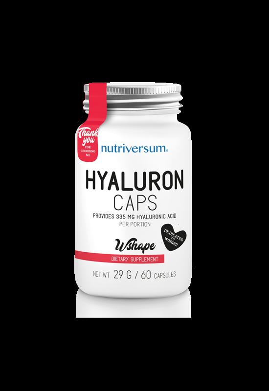 Hyaluron - 60 kapszula - WSHAPE - Nutriversum